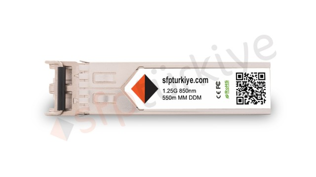 3COM Uyumlu Gigabit SFP Modül - 1000Base-SX 850nm 550Mt SR MM LC DDM