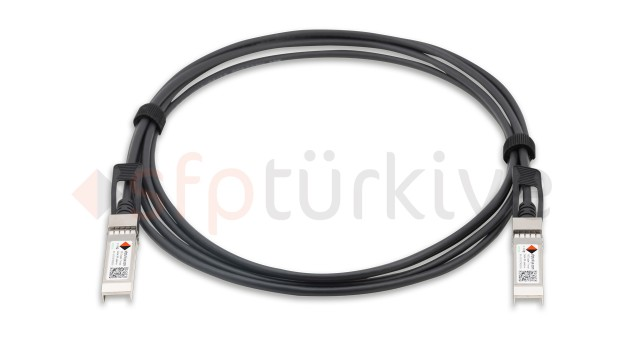BROCADE Uyumlu 10 Gigabit Passive Bakır DAC Kablo - 10GBase Copper Twinax Cable 3 Metre, passive