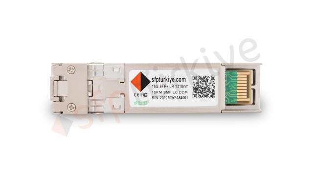 CISCO Uyumlu 16 Gigabit SFP+ Modül - 16GBase-LX LR 1310nm 10Km SMF LC DDM