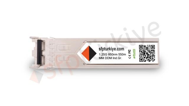 EXTREME NETWORKS Uyumlu Gigabit SFP Modül - 1000Base-SX 850nm 550Mt SR MM LC DDM Industrial Grade