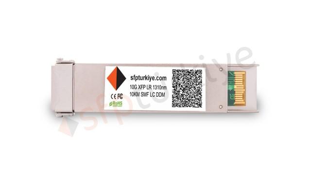 FORCE10 Uyumlu 10 Gigabit XFP Modül - 10GBase-LX LR 1310nm 10Km SM LC DDM Transceiver