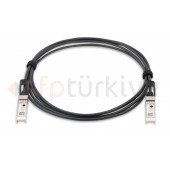 FORTINET Uyumlu 10 Gigabit Passive Bakır DAC Kablo - Copper Twinax Cable 3 Metre, passive
