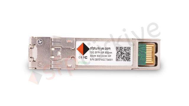 HP B21 Uyumlu 10 Gigabit SFP+ Modül - 10GBase-SX SR 850nm 300Mt MM LC DDM