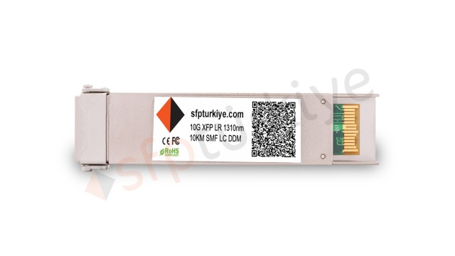 HUAWEI Uyumlu 10 Gigabit XFP Modül - 10GBase-LX LR 1310nm 10Km SM LC DDM Transceiver