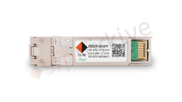 JUNIPER Uyumlu 16 Gigabit SFP+ Modül - 16GBase-LX LR 1310nm 10Km SMF LC DDM