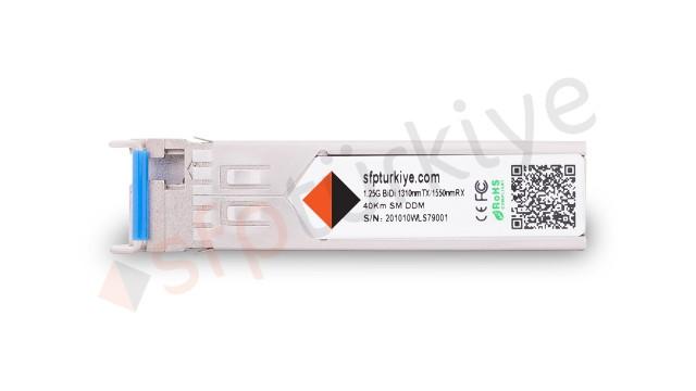 JUNIPER Uyumlu Gigabit Bi-Di SFP Modül - 1000Base-LX 1310nm TX/1550nm RX 40Km SM LC DDM Bidirectional