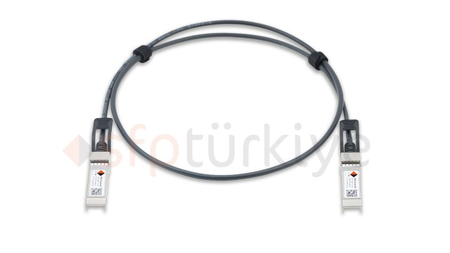 PLANET Uyumlu 10 Gigabit Passive Bakır DAC Kablo - Copper Twinax Cable 1 Metre, passive