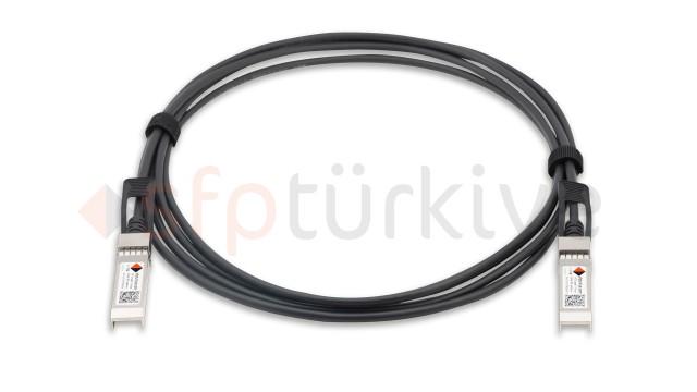 QNAP Uyumlu 10 Gigabit Passive Bakır DAC Kablo - Copper Twinax Cable 3 Metre, passive